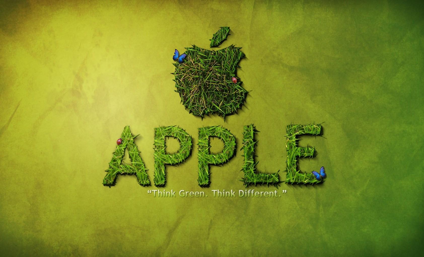 apple-logo-think-green-
