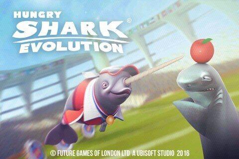 Игры ЕВ на Андроид скачать бесплатно Эволюция голодной акулы Evolution Shark