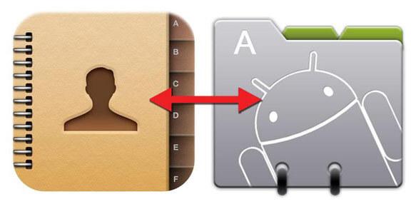 Как перекинуть перенести контакты с Айфона на Андроид